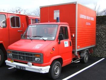 Véhicule de logistique, Sapeurs-pompiers, Pyrénées-Atlantiques (64)