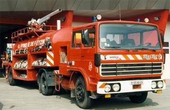 Véhicule tracteur, Service de sécurité incendie, Rhône (69)