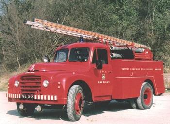 <h2>Camion-citerne d'incendie - Sampigny - Meuse (55)</h2>
