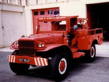 <h2>Camion-citerne pour feux de forêts - Monflanquin - Lot-et-Garonne (47)</h2>