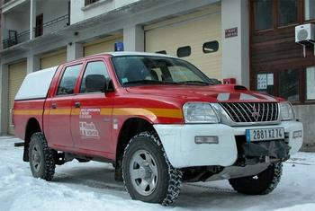 Véhicule de liaison, Sapeurs-pompiers, Haute-Savoie