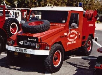 Camion-citerne pour feux de forêts léger, Sapeurs-pompiers, Bouches-du-Rhône (13)