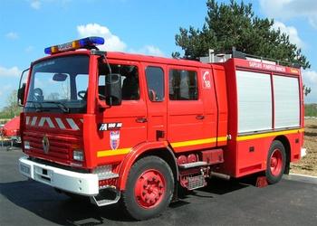 Fourgon-pompe tonne, Sapeurs-pompiers, Manche (50)