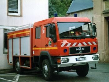 Fourgon-pompe tonne léger, Sapeurs-pompiers, Vosges (88)