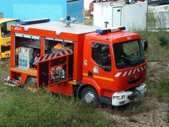 Véhicule de secours routier, Sapeurs-pompiers, Meuse (55)