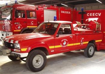 Camion-citerne pour feux de forêts léger, Sapeurs-pompiers, Marne (51)