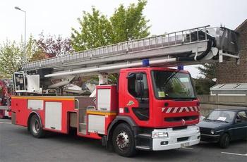 Camion bras élévateur articulé, Sapeurs-pompiers, Nord (59)