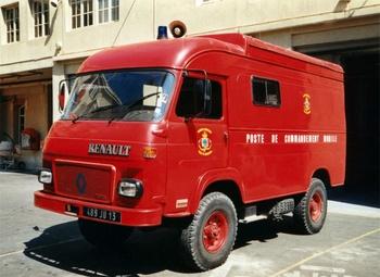 Véhicule poste de commandement, Marins-pompiers de Marseille, Bouches-du-Rhône (13)