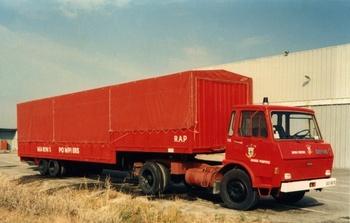 Véhicule tracteur, Service de sécurité incendie, Bouches-du-Rhône (13)