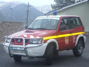 Véhicule de liaison, Sapeurs-pompiers, Pyrénées-Orientales (66)
