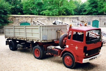 Véhicule tracteur, Sapeurs-pompiers de Paris,  ()