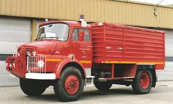 Dévidoir automobile, Sapeurs-pompiers, Moselle (57)