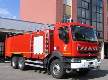 Camion-citerne de grande capacité, Sapeurs-pompiers, Bas-Rhin (67)