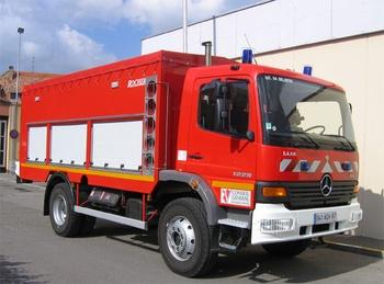 Dévidoir automobile, Sapeurs-pompiers, Bas-Rhin (67)