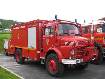Dévidoir automobile, Sapeurs-pompiers, Essonne