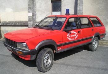 Véhicule de liaison, Sapeurs-pompiers, Lot-et-Garonne (47)