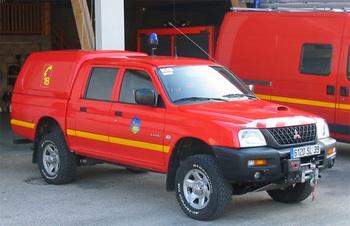 Véhicule de liaison, Sapeurs-pompiers, Jura (39)
