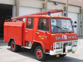 <h2>Fourgon-pompe tonne léger - Bellac - Haute-Vienne (87)</h2>