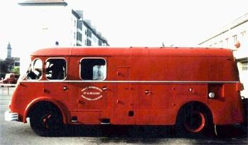 Fourgon-pompe dévidoir, Sapeurs-pompiers, Territoire-de-Belfort (90)