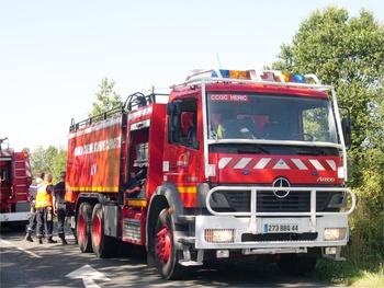 Camion-citerne de grande capacité, Sapeurs-pompiers, Loire-Atlantique (44)