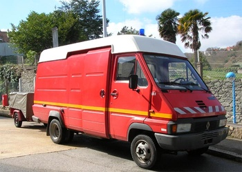 Véhicule d'assistance respiratoire, Sapeurs-pompiers, Manche