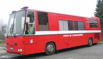 <h2>Véhicule poste de commandement - Clermont-de-l'Oise - Oise (60)</h2>