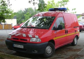 Véhicule poste de commandement léger, Sapeurs-pompiers, Mayenne (53)