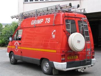 Véhicule pour interventions en milieu périlleux, Sapeurs-pompiers, Yvelines (78)