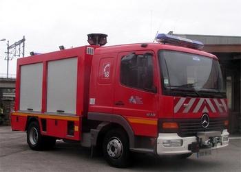 Véhicule de secours routier, Sapeurs-pompiers, Pas-de-Calais (62)