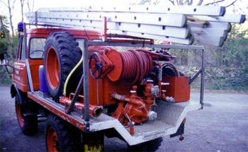 Camion-citerne pour feux de forêts léger, Sapeurs-pompiers, Lozère (48)