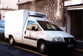 Véhicule de transport frigorifique, Marins-pompiers de Marseille, Bouches-du-Rhône