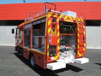 Véhicule d'intervention polyvalent, Sapeurs-pompiers, Gironde (33)