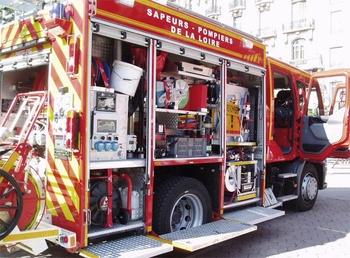 Fourgon-pompe tonne secours routier, Sapeurs-pompiers, Loire (42)
