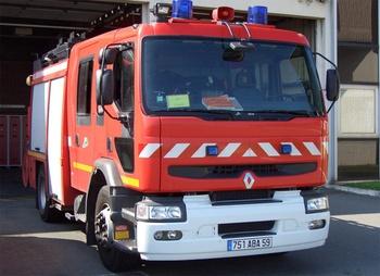 <h2>Fourgon-pompe tonne - Communauté urbaine de Lille - Nord (59)</h2>