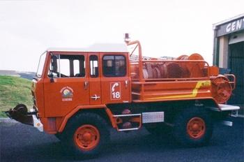 Camion-citerne pour feux de forêts, Sapeurs-pompiers, Lozère (48)