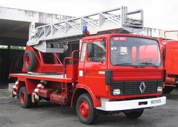 Echelle pivotante, Sapeurs-pompiers, La-Réunion (974)