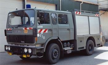 Fourgon-pompe tonne, Armée de l'air, Gironde (33)