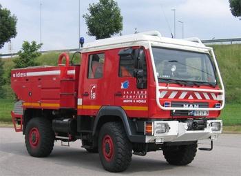 <h2>Camion-citerne pour feux de forêts - Jarny - Meurthe-et-Moselle (54)</h2>