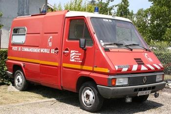 Véhicule poste de commandement, Sapeurs-pompiers, Tarn-et-Garonne (82)