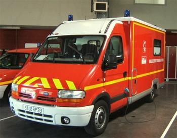 <h2>Véhicule de secours et d'assistance aux victimes - Communauté urbaine de Bordeaux - Gironde (33)</h2>