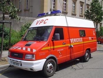Véhicule poste de commandement, Sapeurs-pompiers, Moselle (57)