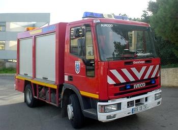Véhicule de secours routier, Sapeurs-pompiers, Corse-du-Sud (2A)