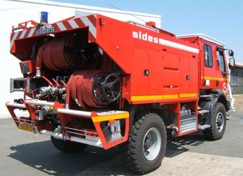 <h2>Camion-citerne pour feux de forêts - Cazaux - Gironde (33)</h2>