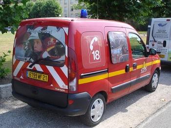 Véhicule de liaison, Sapeurs-pompiers, Côte-d'Or (21)
