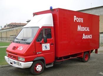Véhicule poste médical avancé, Sapeurs-pompiers, Gers (32)
