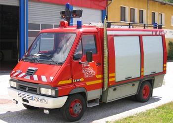 Véhicule de secours routier, Sapeurs-pompiers, Haute-Savoie