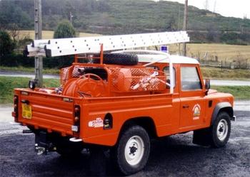 <h2>Camion-citerne pour feux de forêts léger - Aumont-Aubrac - Lozère (48)</h2>