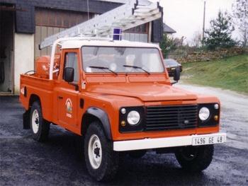 Camion-citerne pour feux de forêts léger, Sapeurs-pompiers, Lozère