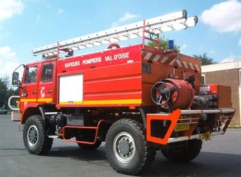 Camion-citerne d'incendie, Sapeurs-pompiers, Val-d'Oise (95)