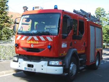 <h2>Fourgon-pompe tonne - Communauté urbaine de Bordeaux - Gironde (33)</h2>